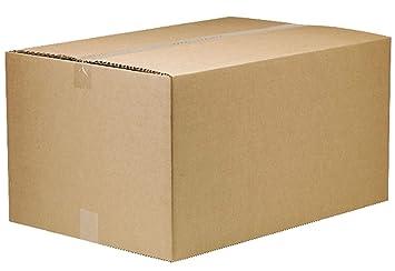 Cajas de embalaje grandes de cartón para mudanza y almacenamiento, 21 x 16 x 12 cm: Amazon.es: Oficina y papelería