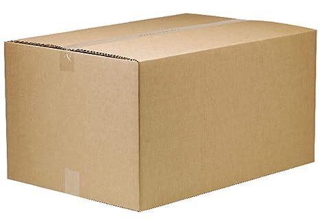 Cajas de embalaje grandes de cartón para mudanza y almacenamiento, 21 x 16 x 12