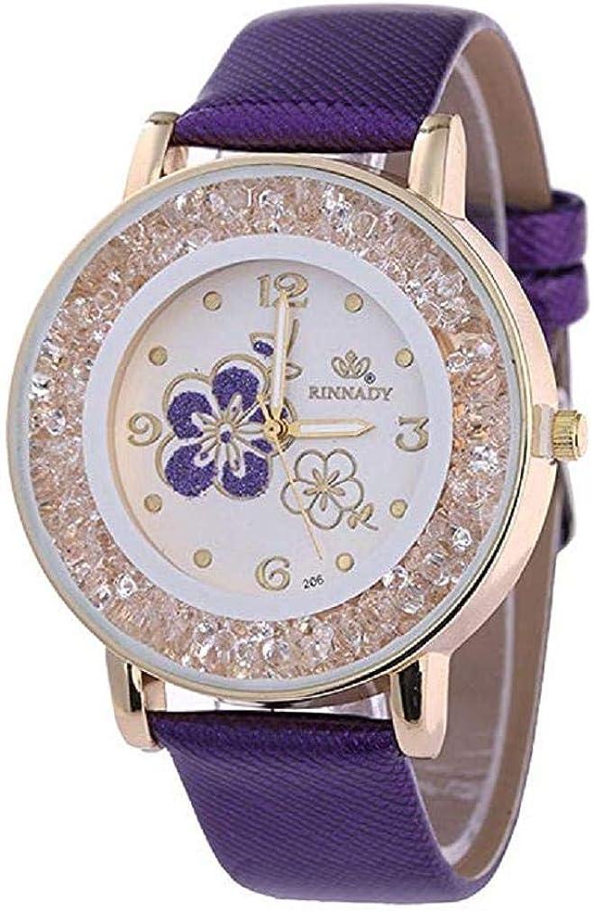 ¡Promoción Relojes de Cuarzo para Mujer, señoras, Chicas Adolescentes, Moda Minimalista, Reloj de Pulsera analógico Casual.