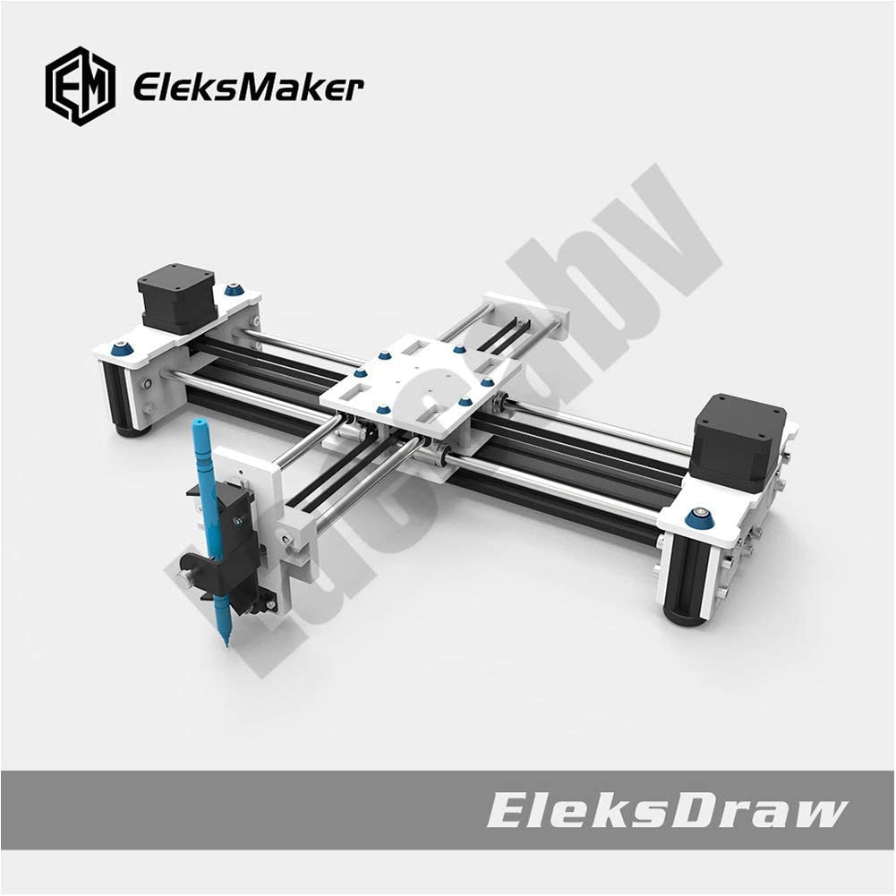 2 ejes DIY CNC XY Plotter Pen Desktop Drawing Robotics Alta precisión Auto Painting Writing Robot Kit CNC Fresadora Router: Amazon.es: Bricolaje y herramientas