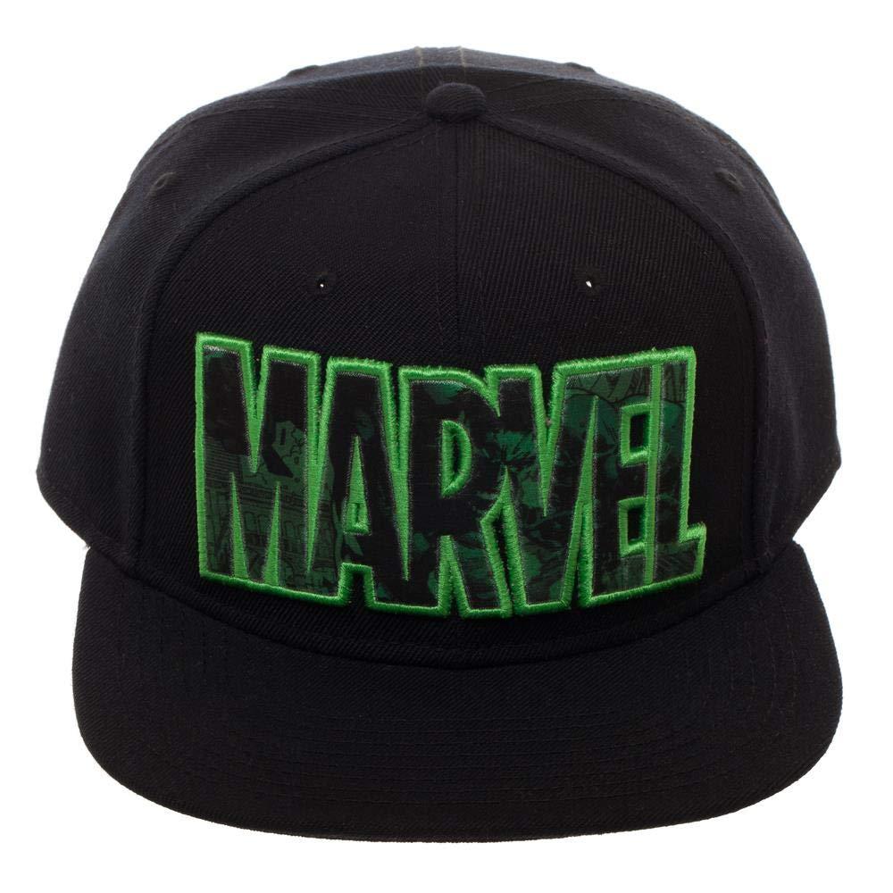 0c8ce1b47 Marvel The Avengers Hulk Image Trap Logo Snapback Hat
