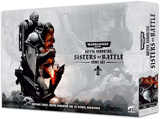 Games Workshop Sisters of Battle Army - Juego de mesa: Amazon.es ...