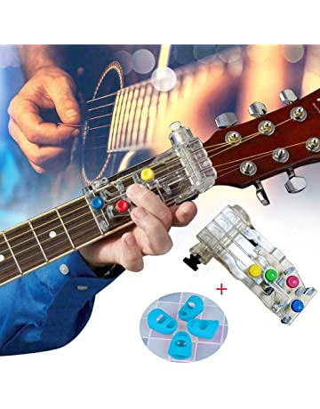 Pocket Guitar Acoustic Guitar Chord Trainer para Principiantes 6 Trastes Dr.Taylor Herramienta de Pr/áctica de Guitarra Port/átil