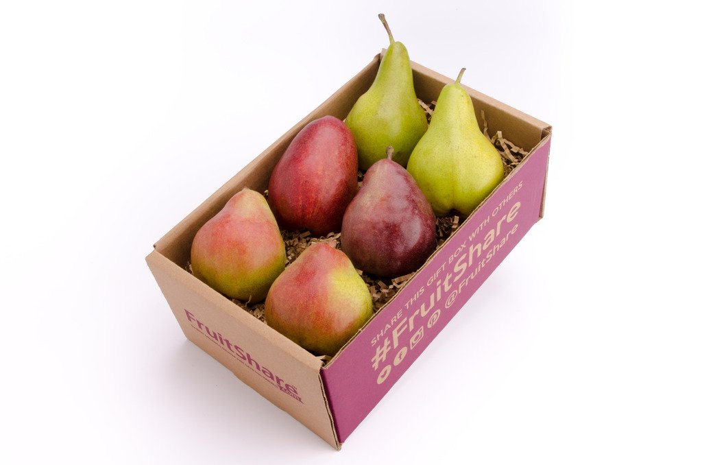 Pears Organic Fruit Gift Basket by FruitShare