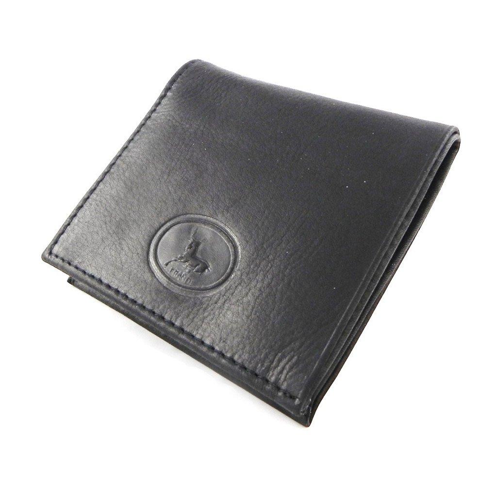Leather wallet Frandi authentic black.