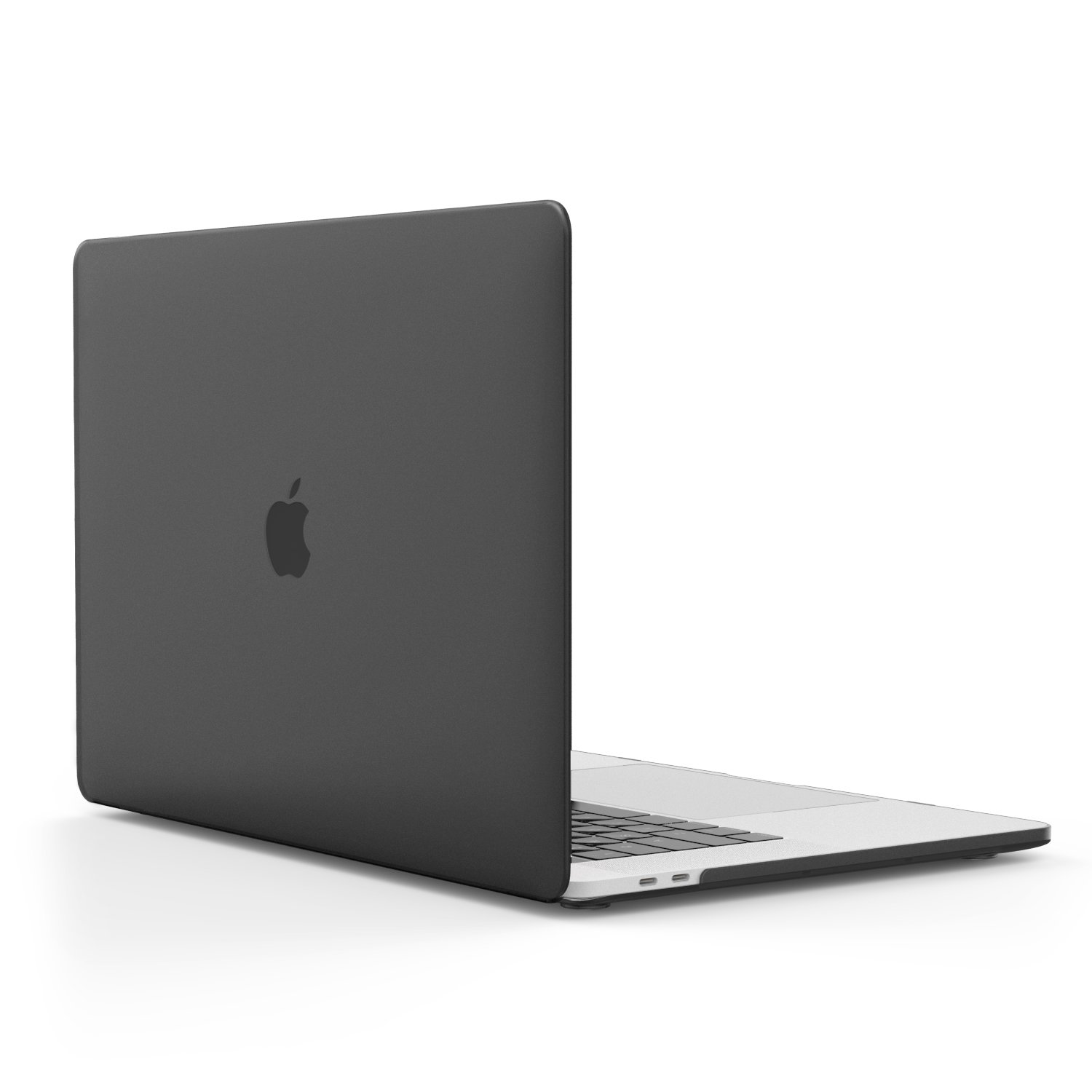MacBook Pro 15 Case 2018/2017/2016, MoKo Slim PC Matte Frost Hard Shell Protective Cover for NEWEST Release 2018/2017/2016 Apple MacBook Pro 15 Inch with Retina Display A1707 Laptop, Translucent Black