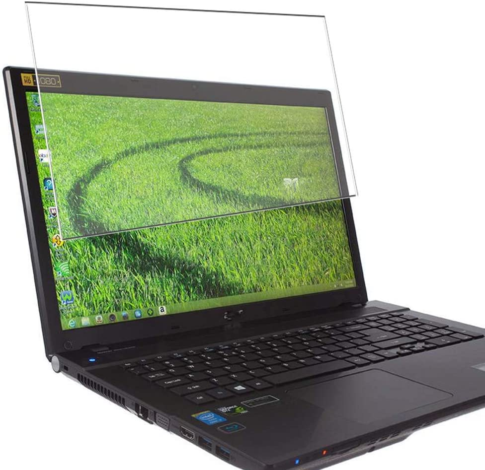 Puccy Privacy Screen Protector Film, Compatible with Acer Aspire V3-772G / V3-771G / V3-7710G / V3-7710 17.3