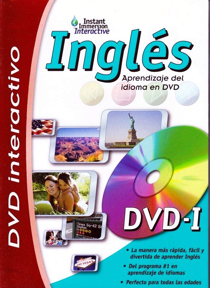 Learn Ingles English ESL Language Learning Interactive DVD Game New - in Stock