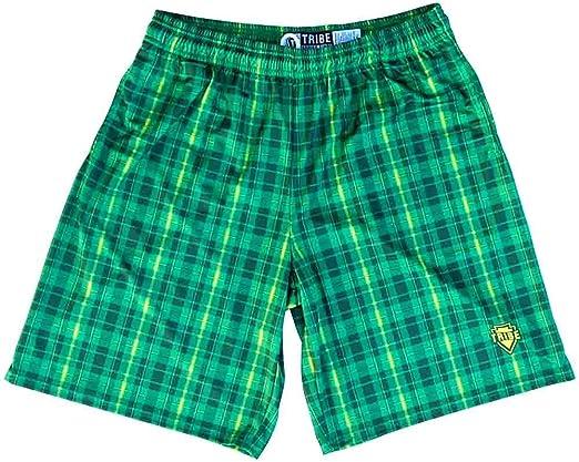 Kelly Tartan Paid Lacrosse Shorts
