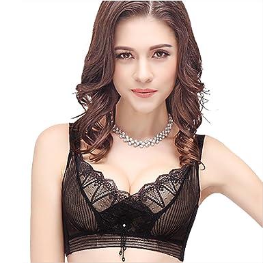 aed3a2fd0e0b0 Ya Lida New ultra gather adjustable bra underwear at Amazon Women s ...