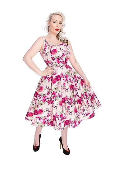 9a909249bdaf Hearts & Roses Women's 50s Vintage Style Samantha Sundress: Amazon ...