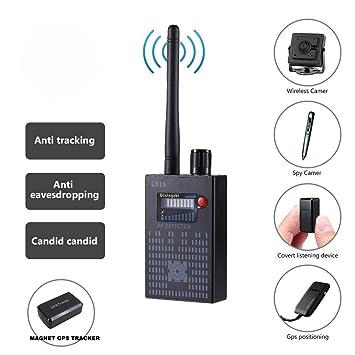 Dooreemee - Juego de detectores de señal para cámara GPS con sensor de llamadas, cámara inalámbrica, ...
