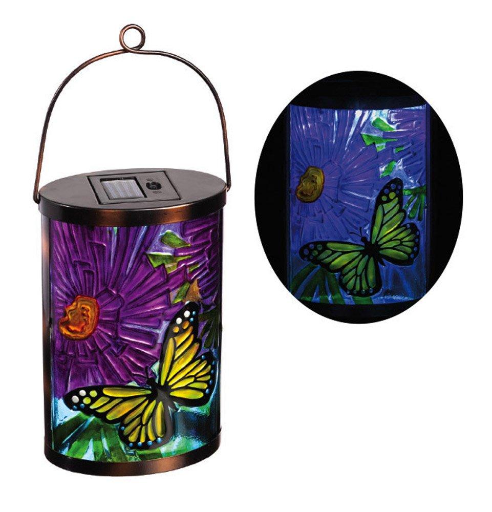 New Creative Butterfly Garden Friends Hanging Solar Lantern