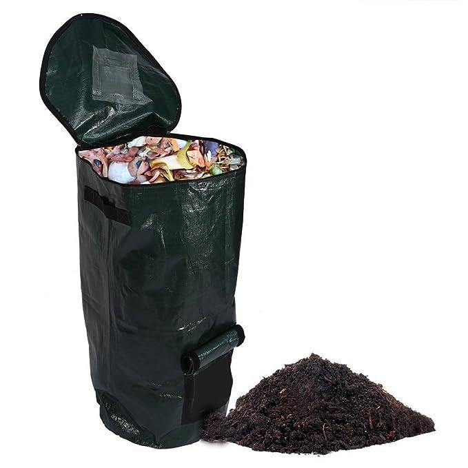 Bolsa de compost, para fermento orgánico casero, para eliminación ...