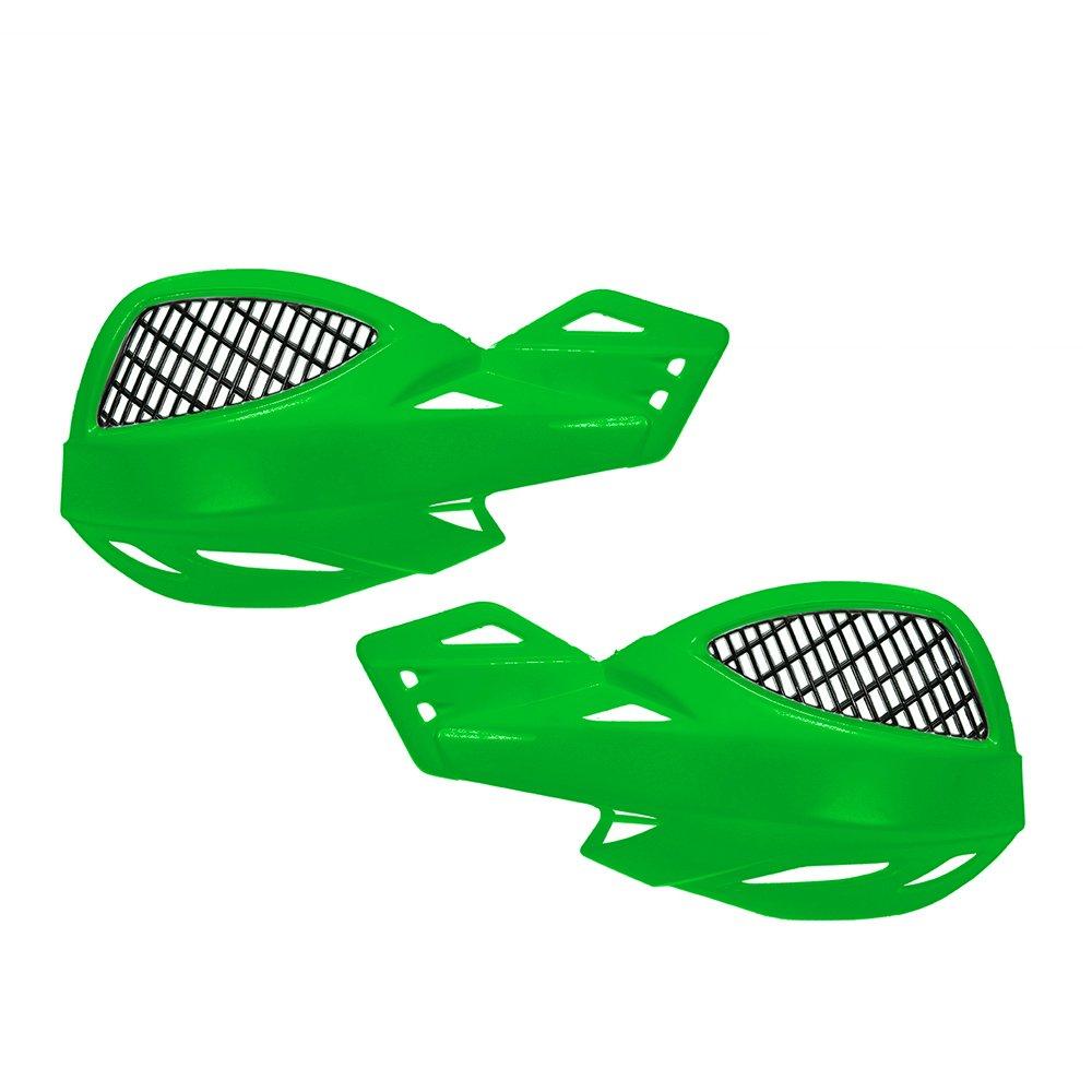 KKmoon 1 paio protezioni per manubrio ATV manubrio per moto fuoristrada Giallo