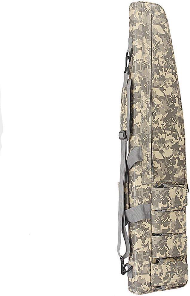 Gexgune 100cm Juego de Guerra Militar Táctico Gun Bag Durable Antirresbaladizo Equipo de Caza Resistente al Agua Rifle de Pistola de Aire Funda Protectora (5 Colores Opcionales)