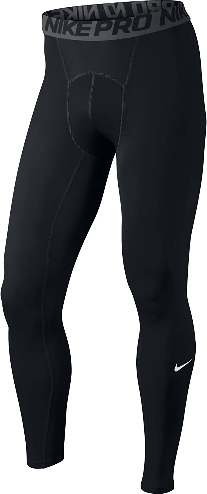 Nike Synthetic Dri fit Thermal Running Pants in BlackBlack