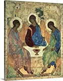 Andrei Rublev Premium Thick-Wrap Canvas Wall Art Print entitled The Holy Trinity, 1420s 16''x20''