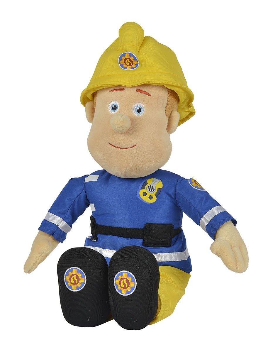 Simba Feuerwehrmann Sam Plüschfigur mit Helm 45 cm