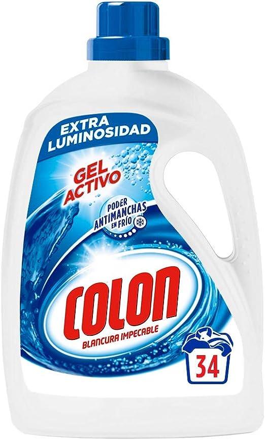 Colon Detergente liquido azul, 30 lavados - 1907 ml: Amazon.es ...