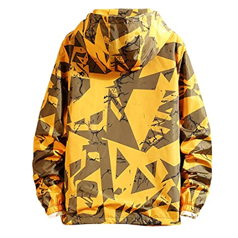 ZODOF Chaqueta Jacket para Hombre Ligero Abrigo Grueso de Manga ...