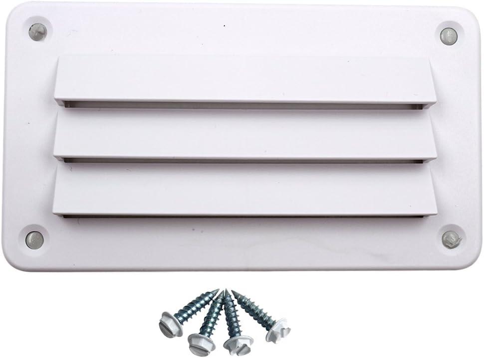 140x79mm Respiradero De Láminas De Plástico ABS Blanco Marino Para Barco, Caravana, RV