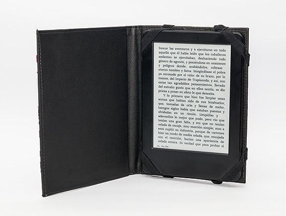 ANVAL Funda para EBOOK TAGUS Lux 2014: Amazon.es: Electrónica
