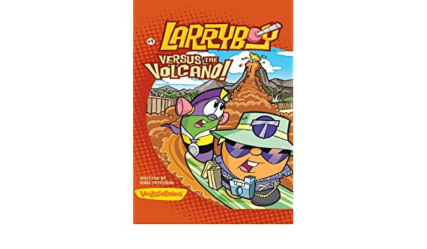LarryBoy, Versus the Volcano (Big Idea Books / LarryBoy Book ...