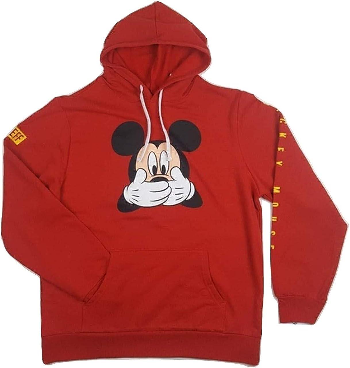 Medium Cute Mickey Mouse Hoodie Funny Love Cartoon Gift Adult /&Kids Hoodie Top