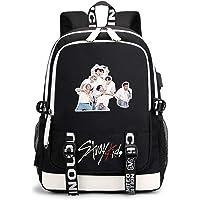 JUSTGOGO Korean KPOP Stray Kids Backpack Daypack Laptop Bag School Bag Mochila Bookbag