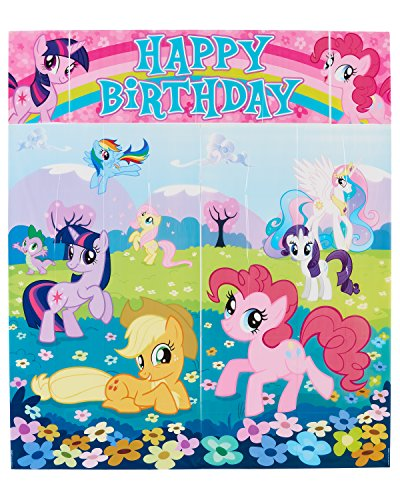 American Greetings My Little Pony Wall (Little Pony Party Ideas)