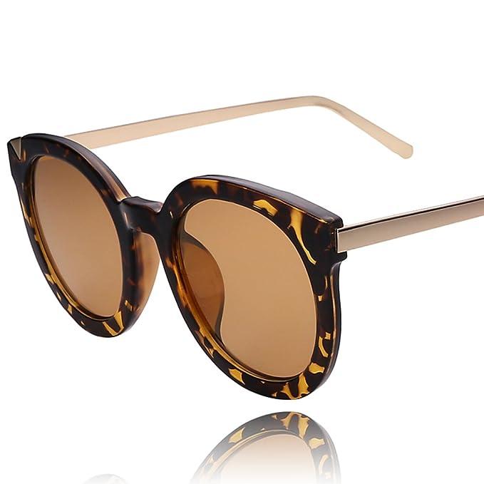 Las señoras redondas gafas de sol/Vasos de jalea/Gafas de ...