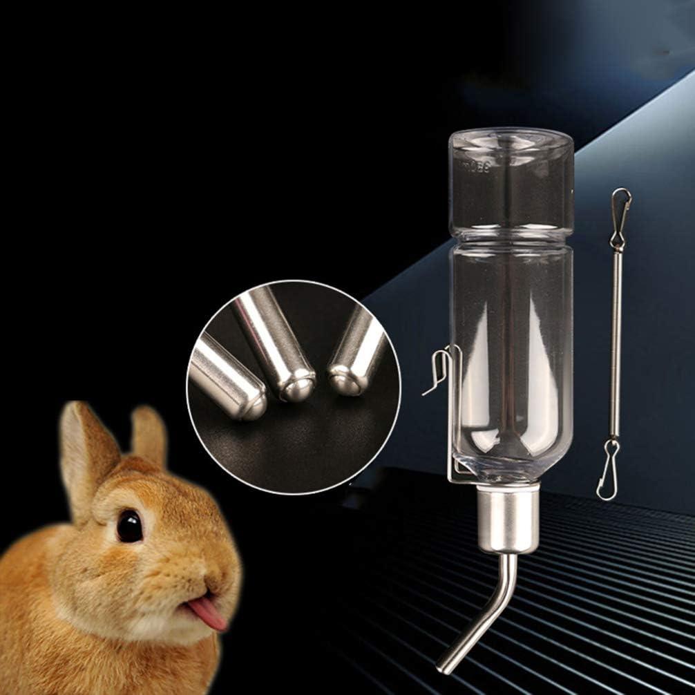 POPETPOP 2 Piezas Botellas de Agua de Conejo H/ámster Bebederos de Agua para Mascotas Botellas de Agua para Colgar Conejos Chinchillas Conejillos de Indias
