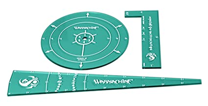Amazon Com Privateer Press Warmachine Retribution Template Set