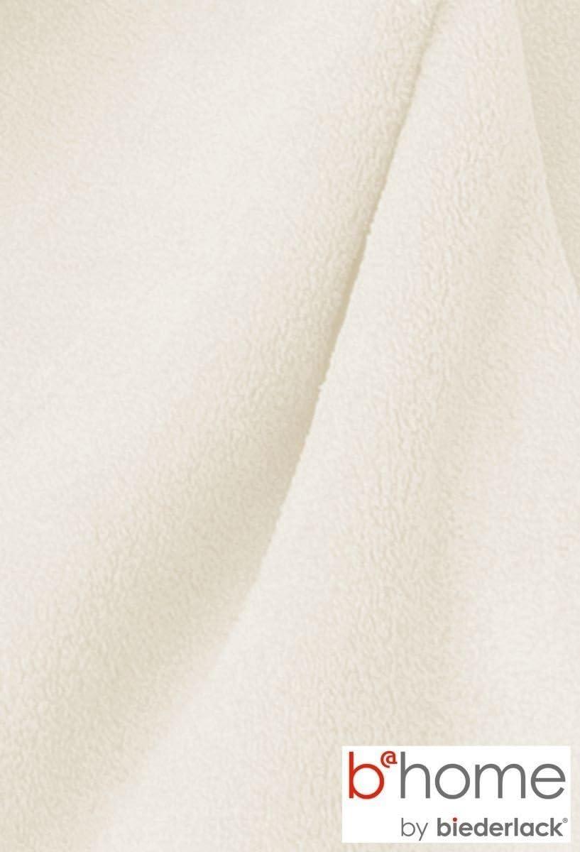 A Una Piazza E Mezza Poliestere 200x150x1 cm Grigio biederlack King-Fleece Uni Coperta