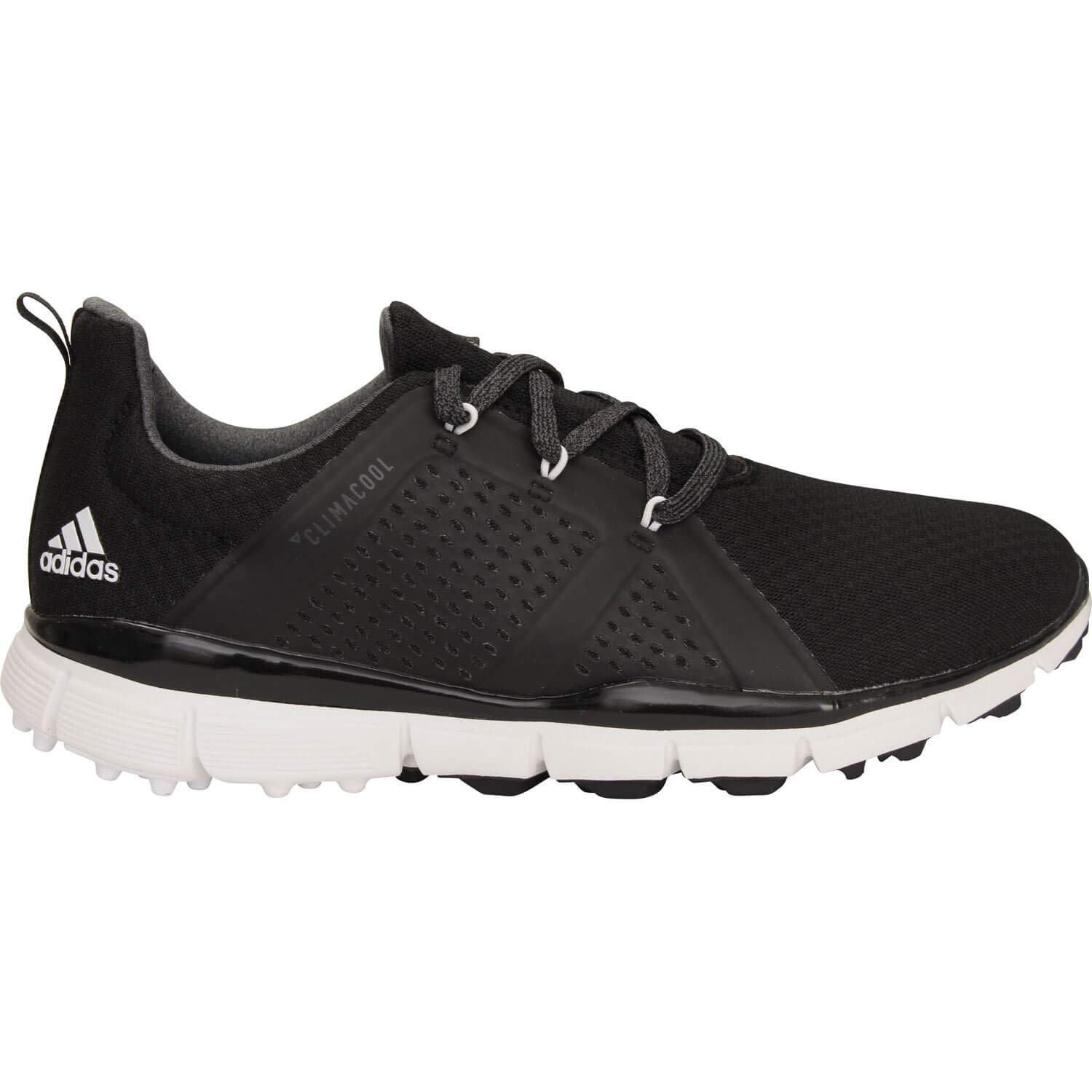 quality design ba554 5070c adidas Ladies Climacool Cage Golf Shoes Ladies Black/White ...