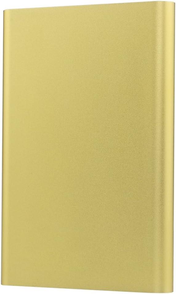 Blueendless/® U25F Golden 2.5 Hard Disk Sata HDD SSD Enclosure with USB3.0 Port USB Cable