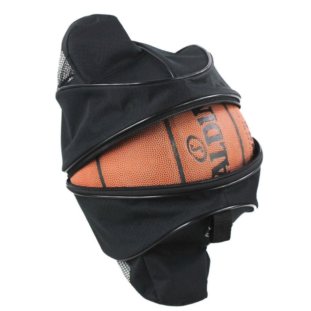 Xrten Bolsa de Pelota Impermeable para Baloncesto, Fú tbol, Voleibol ect,Negro Fútbol