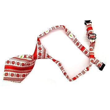 WXF Lazo del Perro Mascota de Navidad, Lazo de la Mano Ajustable ...