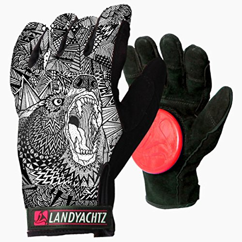 Landyachtz Spirit Slide Gloves - SM by Landyachtz