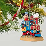 Hallmark Keepsake 2017 Disney Mickeys Magical Railroad Sound Christmas Ornament With Light and Motion