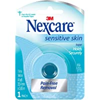 Nexcare Sensitive Skin Tape Holds Securely, 1 In X 144 In 1 Ea (Pack Of 12)
