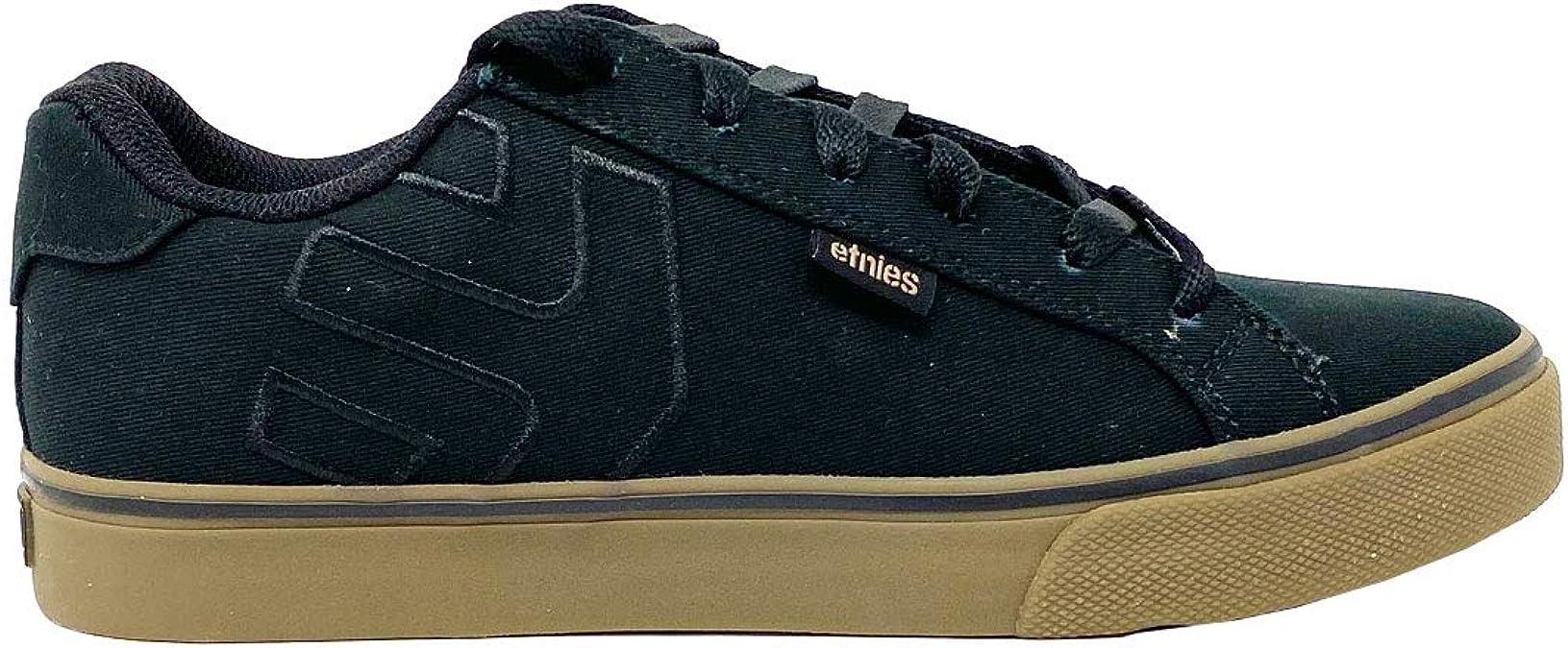 Etnies Men's Fader Vulc Low Top Sneaker Shoes: