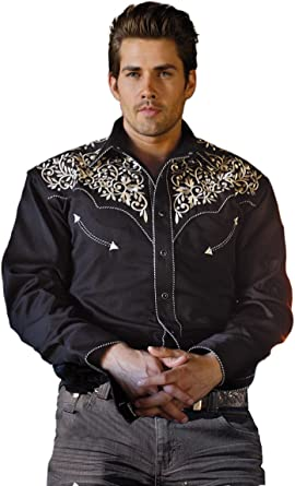 Cowboy Camisa Western Camisa