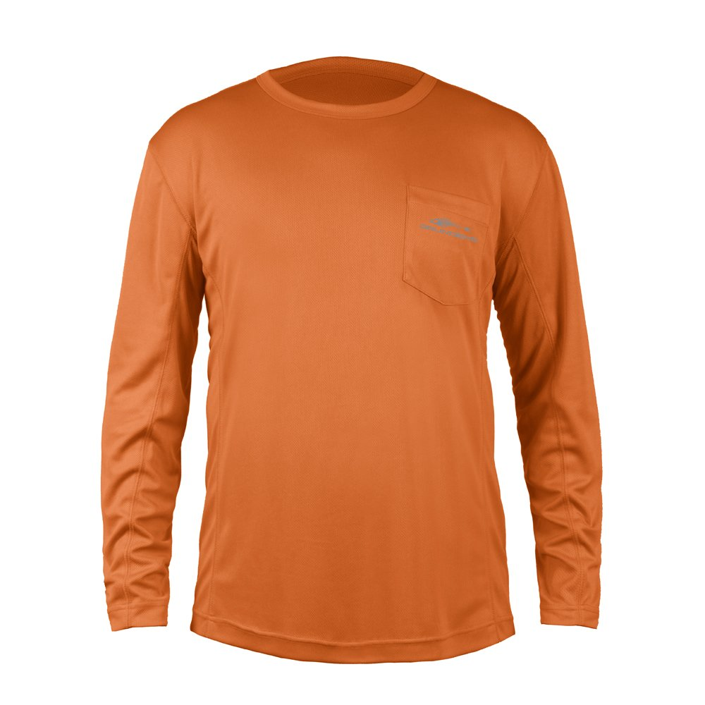 Grundens FHメンズFish Headパフォーマンスシャツ B01N76523J XXXL オレンジ(Burnt orange) オレンジ(Burnt orange) XXXL
