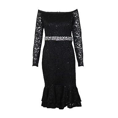 Straight Tea Length Dress