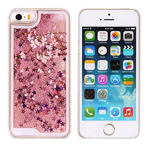 Funda para iPhone 4 4s, Caja de plástico transparente para iPhone 4 4s, iPhone 4 4s Dual Layer Case Cover Skin Shell Carcasa Funda, Ukayfe Cubierta de la caja Funda protectora de plástico duro caso cl rosa grisáceo