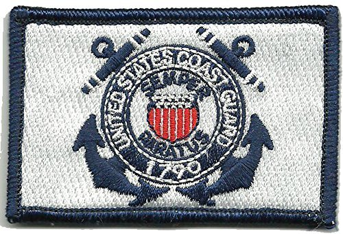 U.S. Coast Guard Tactical Patch - Color
