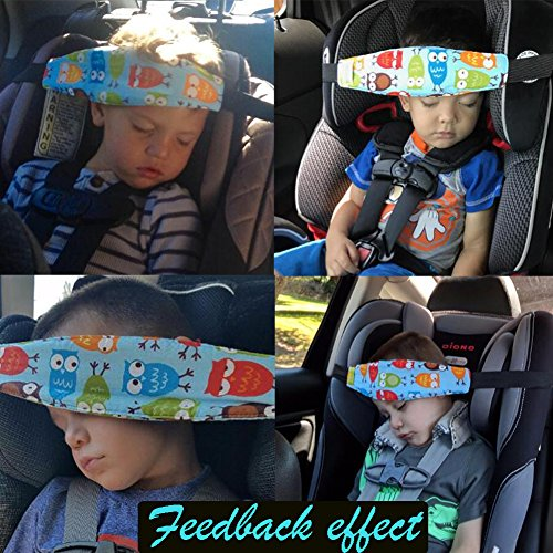 Accmor 2Pcs Infants and Baby Head Support, Safety Car Seat Neck ...