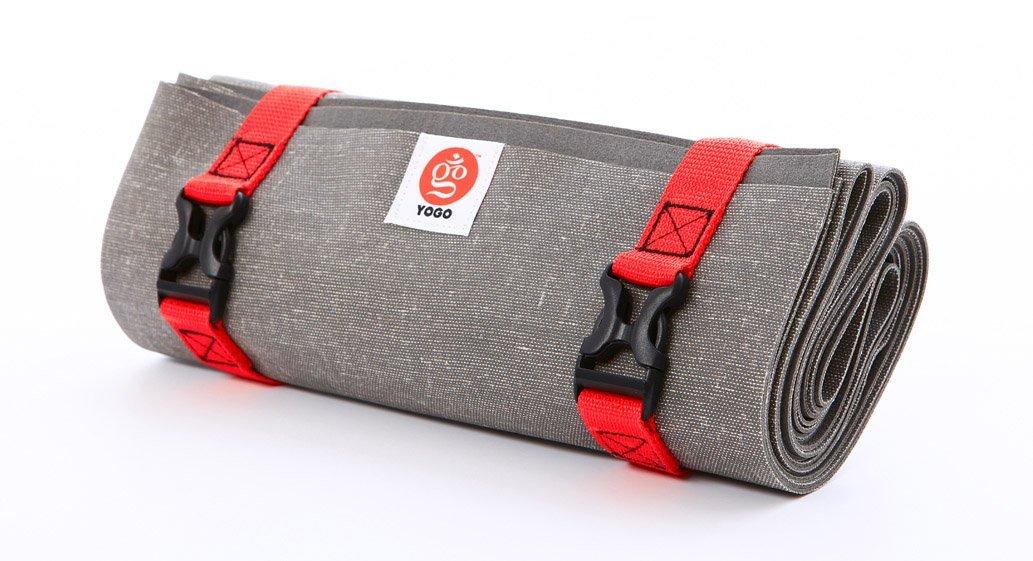 Yogo Ultralight Travel Yogamatte 2.0 anthrazit